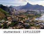 botafogo neighborhood with...   Shutterstock . vector #1191122209