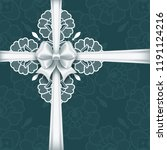 wedding card or invitation... | Shutterstock . vector #1191124216