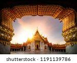 wat benchamabophit or the...   Shutterstock . vector #1191139786