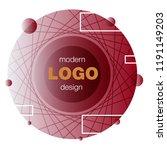minimalistic design  creative... | Shutterstock .eps vector #1191149203