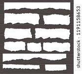 scrap paper on wooden...   Shutterstock .eps vector #1191158653