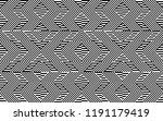 seamless pattern with striped... | Shutterstock .eps vector #1191179419