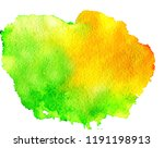 colorful abstract watercolor... | Shutterstock .eps vector #1191198913