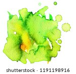 colorful abstract watercolor... | Shutterstock .eps vector #1191198916