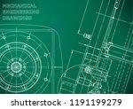 blueprint  sketch. vector... | Shutterstock .eps vector #1191199279
