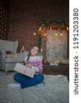 beautiful teenager girl on...   Shutterstock . vector #1191203380
