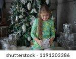 beautiful teenager girl on...   Shutterstock . vector #1191203386