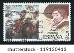 spain   circa 1977  stamp... | Shutterstock . vector #119120413