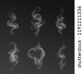 vector set of realistic... | Shutterstock .eps vector #1191211336