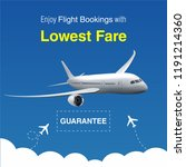 realistic vector banner for... | Shutterstock .eps vector #1191214360