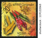 india   circa 2009  stamp... | Shutterstock . vector #119122063