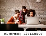 designers team young people... | Shutterstock . vector #1191238906