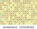 beautiful geometric pattern... | Shutterstock .eps vector #1191240163