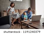 young parent spending happy... | Shutterstock . vector #1191240379