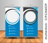 modern roll up banner.... | Shutterstock .eps vector #1191266029