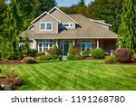 luxury new home | Shutterstock . vector #1191268780