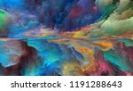 dream land series. abstract... | Shutterstock . vector #1191288643