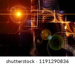 geometry of technology series.... | Shutterstock . vector #1191290836