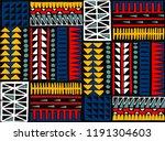 tribal vector ornament.... | Shutterstock .eps vector #1191304603