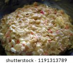 mashed potato or mashed... | Shutterstock . vector #1191313789