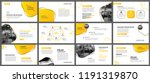 presentation and slide layout... | Shutterstock .eps vector #1191319870