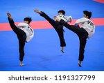 jakarta  indonesia   august 18  ... | Shutterstock . vector #1191327799