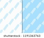 abstract seamless pattern with... | Shutterstock .eps vector #1191363763