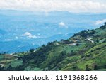 mountain view village in the...   Shutterstock . vector #1191368266
