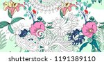 original trendy seamless... | Shutterstock . vector #1191389110