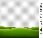green landscape isolated... | Shutterstock . vector #1191408046