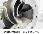 horizontal chemical pump  cross ... | Shutterstock . vector #1191452743