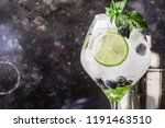 summer alcoholic cocktail... | Shutterstock . vector #1191463510