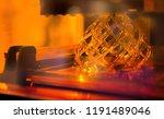 a 3d printer in the laboratory... | Shutterstock . vector #1191489046