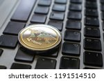 crypto ripple coin currency... | Shutterstock . vector #1191514510