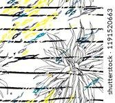 tropical  stripe  animal motif. ...   Shutterstock .eps vector #1191520663
