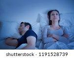 desperate woman can't sleep... | Shutterstock . vector #1191528739