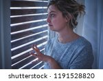 woman feeling depressed and... | Shutterstock . vector #1191528820