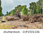 removal of vegetation in south... | Shutterstock . vector #1191531136