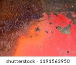 abstract old rusty metal... | Shutterstock . vector #1191563950