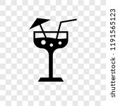margarita vector icon isolated... | Shutterstock .eps vector #1191565123