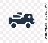 pick up truck vector icon... | Shutterstock .eps vector #1191578590