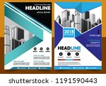 business abstract vector... | Shutterstock .eps vector #1191590443