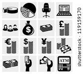 Money Icons Set .finance Icon...