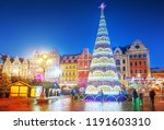 Wroclaw  Poland  Christmas...