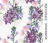 seamless pattern. beautiful... | Shutterstock .eps vector #1191611356
