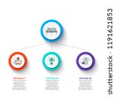 business data visualization.... | Shutterstock .eps vector #1191621853