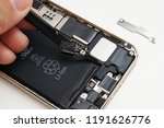 disassembly of smartphone | Shutterstock . vector #1191626776