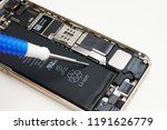 disassembly of smartphone | Shutterstock . vector #1191626779