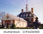 williamsburg  va  usa. august... | Shutterstock . vector #1191636583