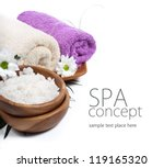 spa background. shallow dof | Shutterstock . vector #119165320